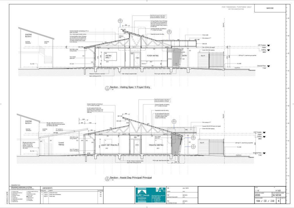 Admin Building – Giarola Architects (Architectural Graduate) – Ben ...