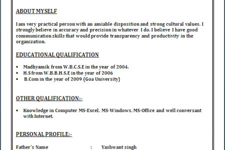 Resume examples word doc | Thesis in literature