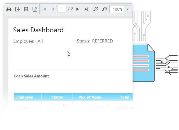 Syncfusion Report Platform | Easily organize and share RDL reports