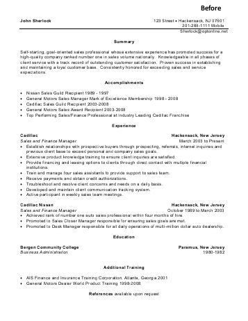 Sales Consultant Resume Sample - gallery Creawizard.com