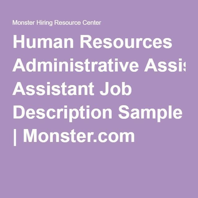 Best 25+ Administrative assistant job description ideas on ...