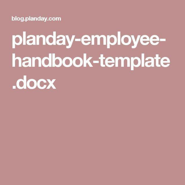 The 25+ best Employee handbook ideas on Pinterest | Net hr, Cool ...