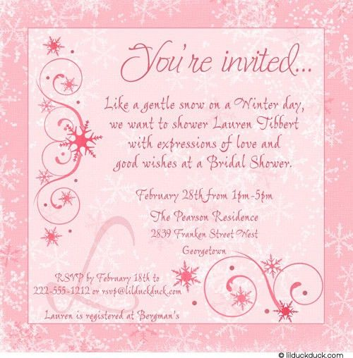 Bridal Shower Invitation Wording Ideas | badbrya.com
