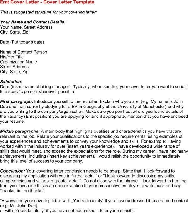 Cover letter dear prospective employer