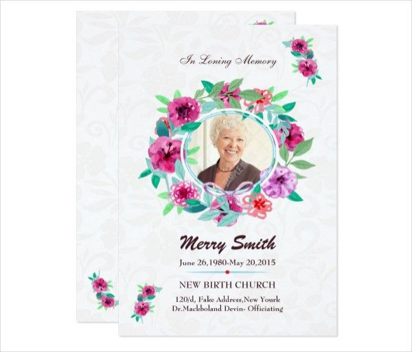 Funeral Prayer Card Template - 21+ PSD, AI, EPS Format Download