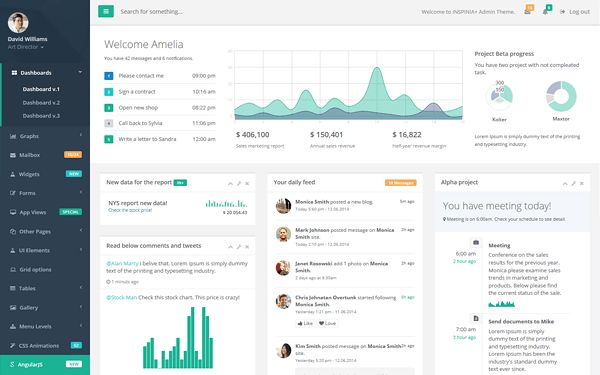 Bootstrap Admin Templates | WrapBootstrap