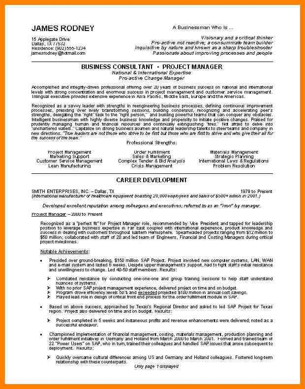 Example Of Great Resumes. Free Chronological Resume Examples | How ...