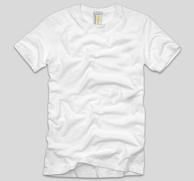 White blank T-shirt template psd | Free Download T Shirt Template