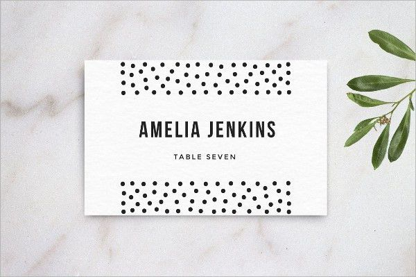 9+ Wedding Name Cards Printable PSD, EPS Format Download | Free ...