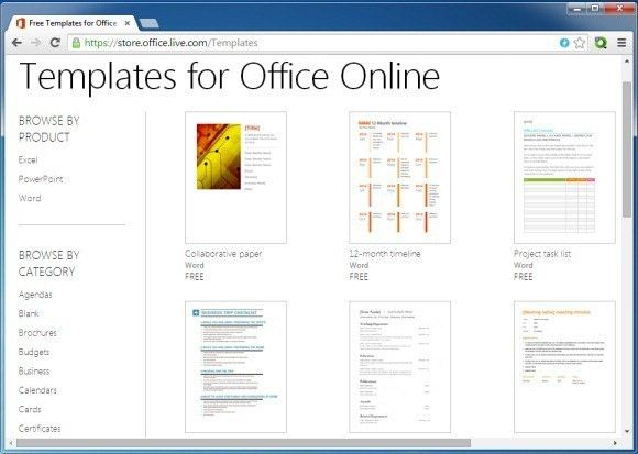 microsoft online template - Template