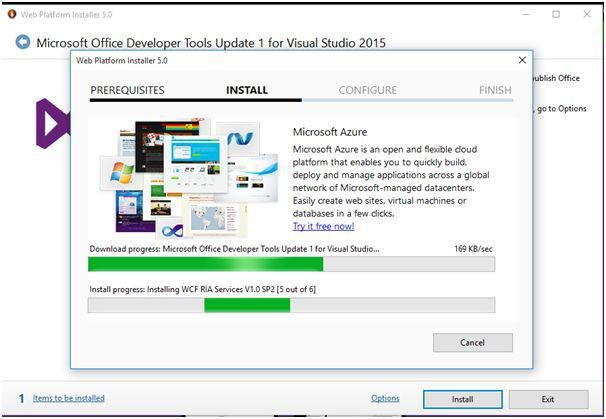 SharePoint And VSTO Templates in Visual Studio 2015
