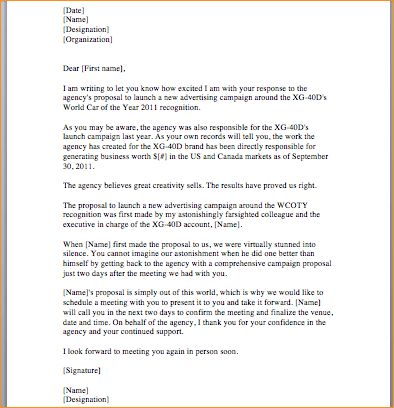 How to make a proposal letter - Business Proposal Templated ...