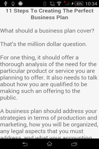 Business Plan Template - Android Apps on Google Play