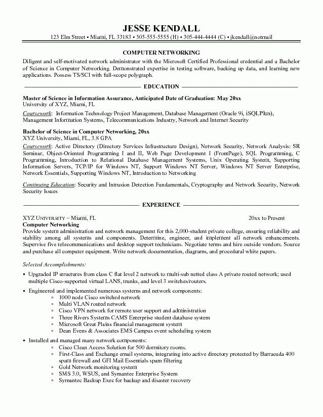 Download Exchange Administration Sample Resume ...