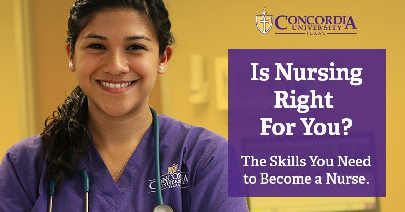 The Essential Skills You Need To Become A Nurse | Concordia Texas
