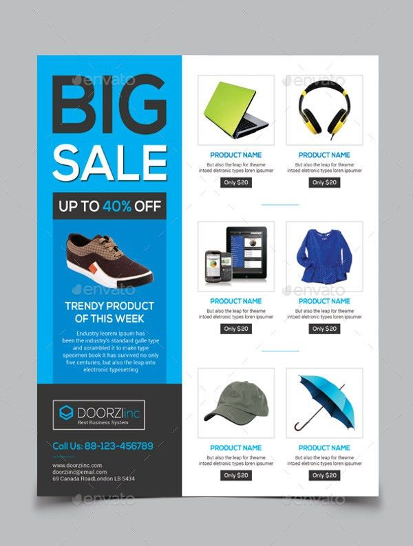 22+ Sale Flyers - PSD, Vector EPS, JPG Download | FreeCreatives
