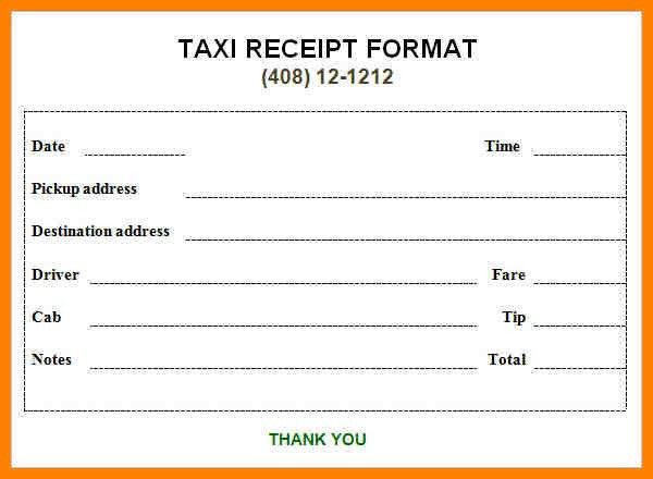 4+ taxi bill format | portfolio covers