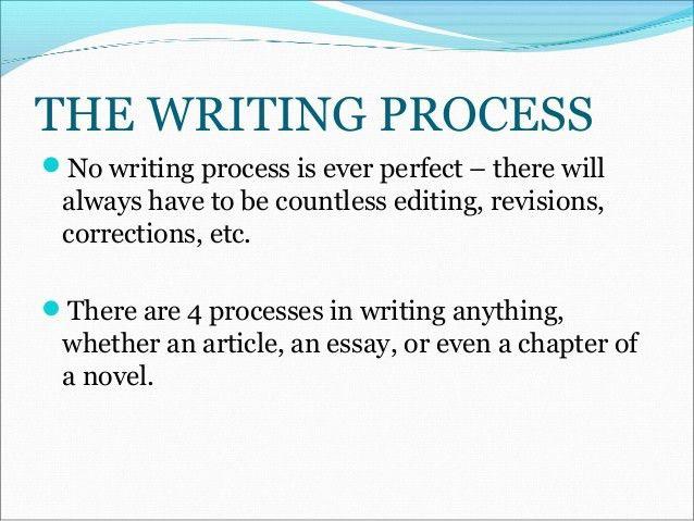 Tutorial 3 (pre writing & process essay format)