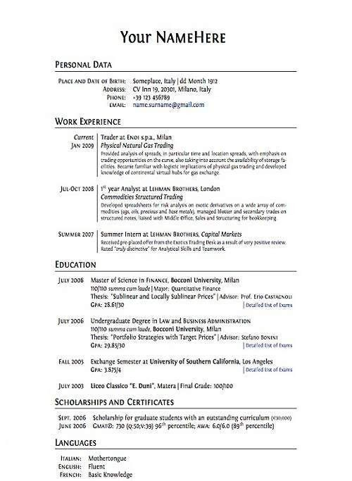 Strikingly Ideas How To Make A Perfect Resume 16 Making A Perfect ...