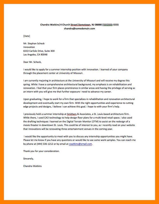 6+ internship email sample | resumes great