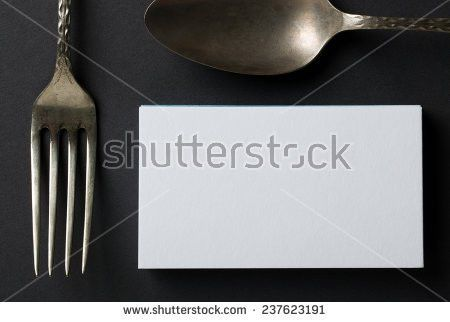 Thick White Cotton Paper Business Card Stock Photo 308022521 ...