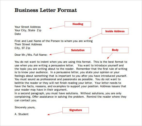 Formal Letter Template - 19+ Free Word, PDF Documents Download ...
