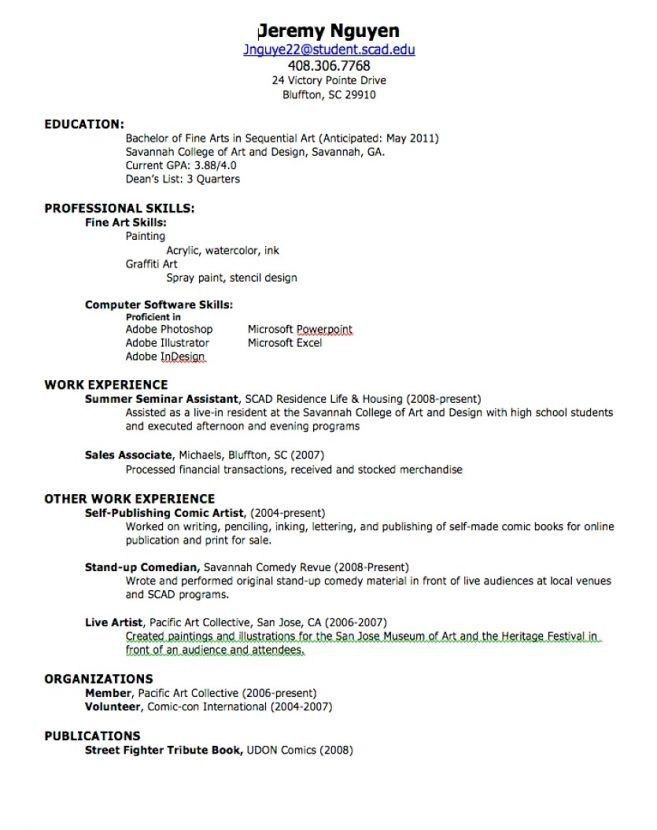 Resume For High School Graduate With No Experience - Best Resume ...