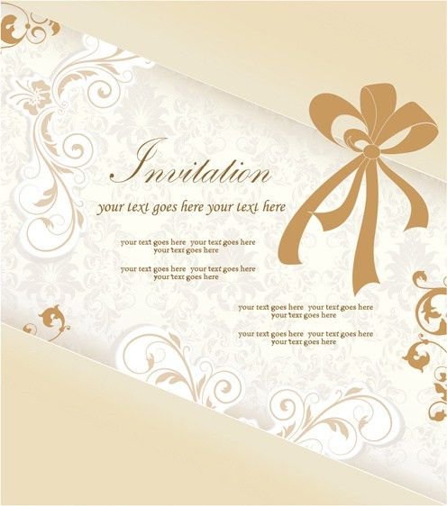 Engagement invitation card free vector download (12,682 Free ...