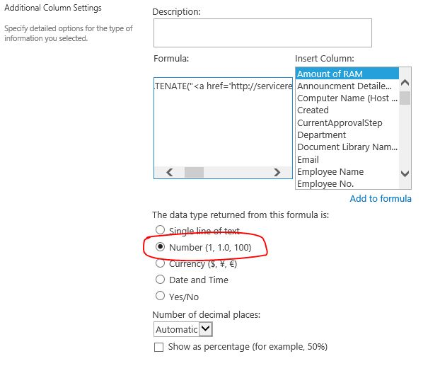 asp.net - Sharepoint List how to add hyperlinks to texts in a ...