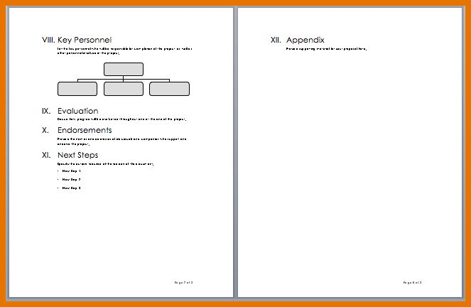 Project Proposal Template Microsoft Word Templates - inducedinfo