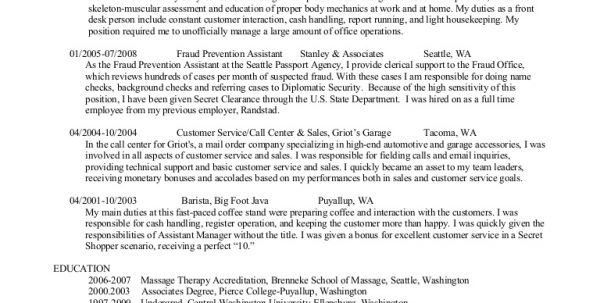 Barista Resume Skills Example Barista Resume Cover Letter Resume ...