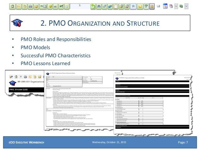 eCIO PPT What is a PMO