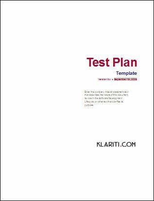 Test Plan Template | Flickr