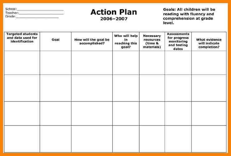 9+ action plan template excel | hr cover letter
