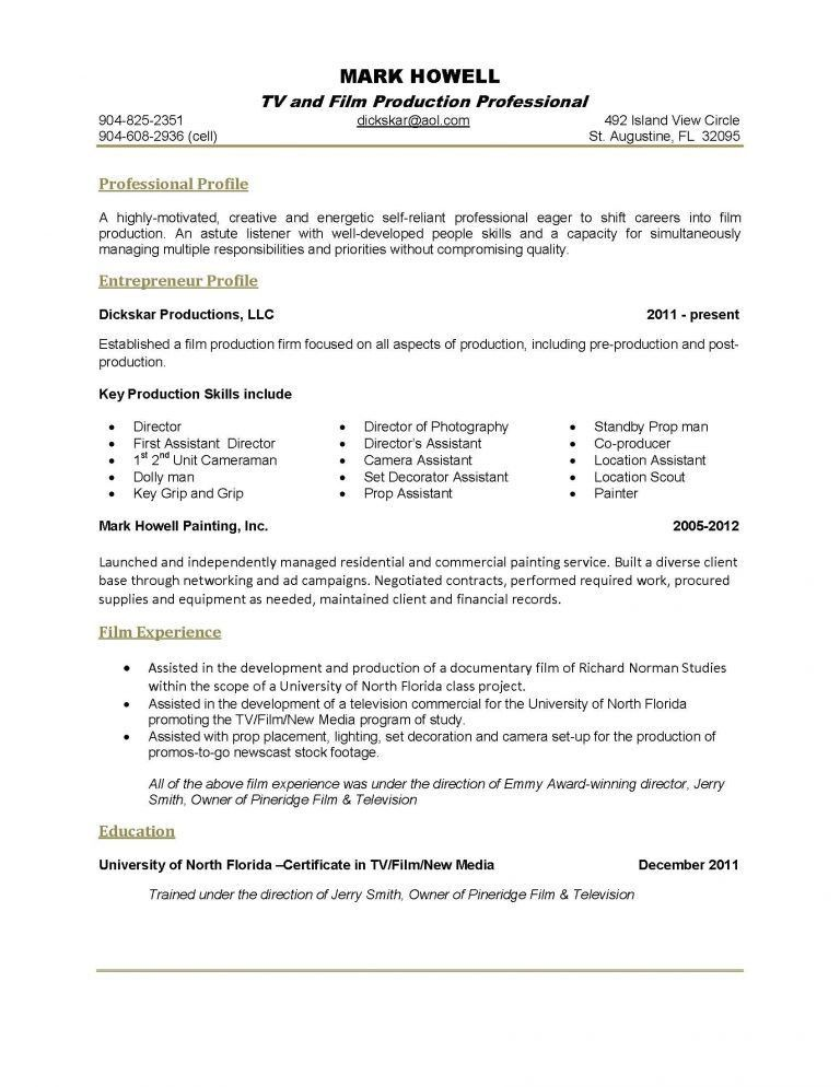 2 Page Resume Format Example - Contegri.com