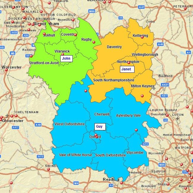 Sales Territory Mapping Free | Business Map Centre