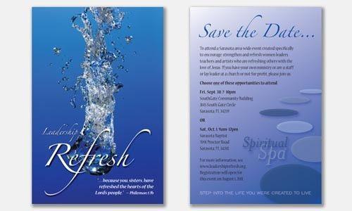 Freelance Graphic Design Sample Portfolio | Postcard Design