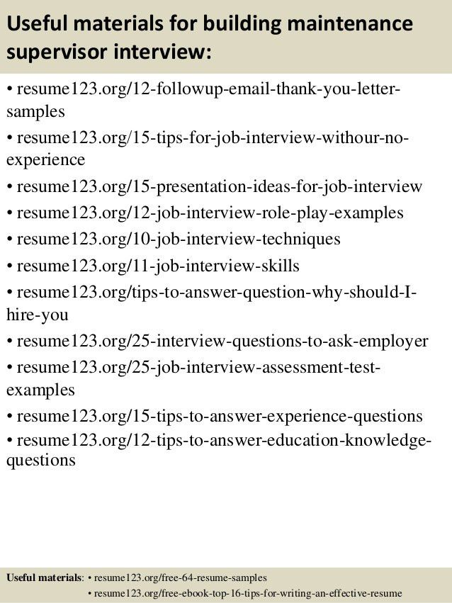 building maintenance sample resume building maintenance resume 19