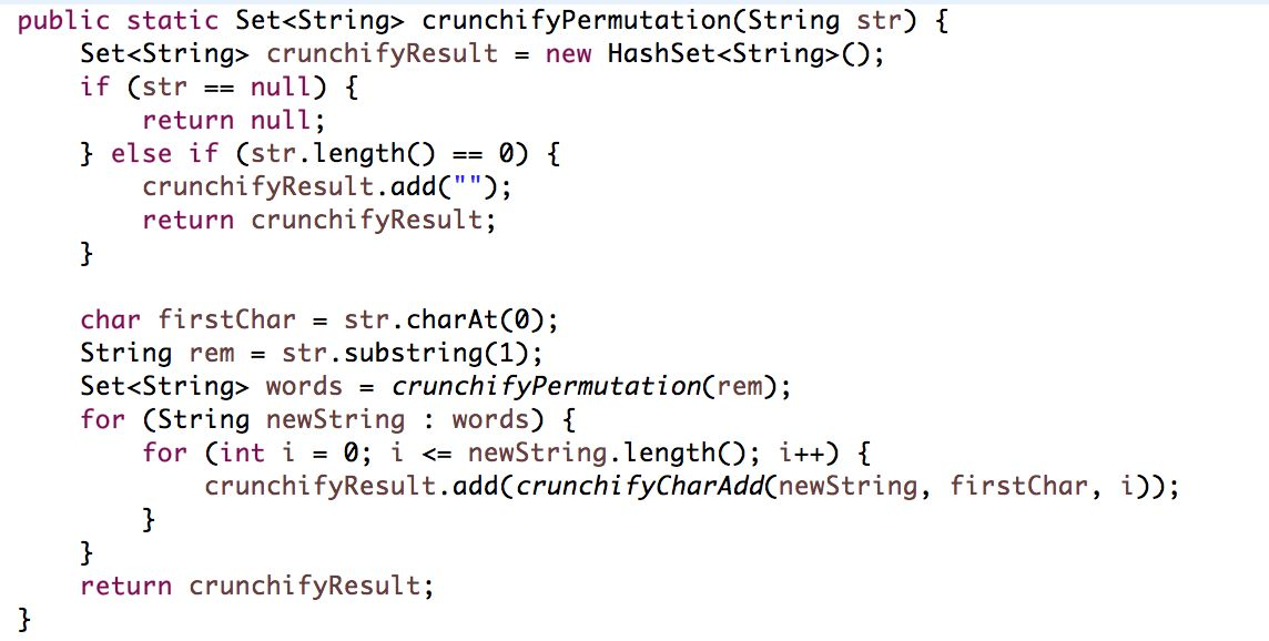 How to Find All Permutations of a String in Java - Example • Crunchify