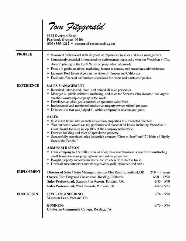 updated. sample realtor resume aggregate sales sample resume ...