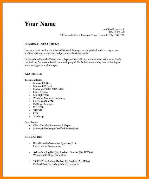 Example Of A Basic Resume. 105 Best Resume Example Images On ...