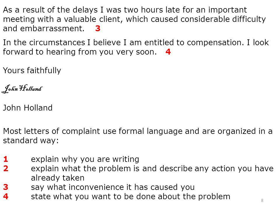 How to write a formal business apology letter