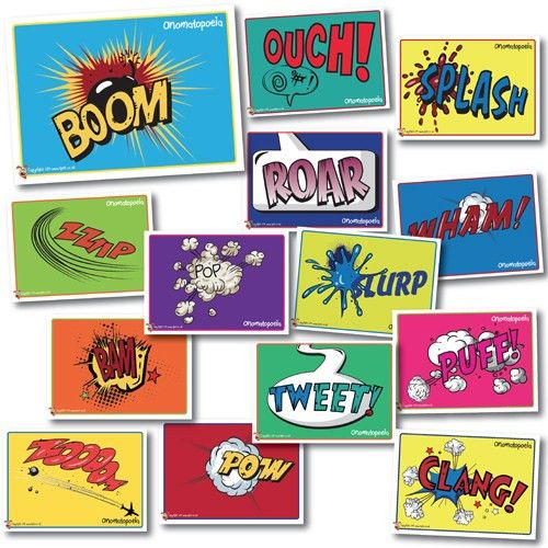 onomatopoeia words - Google Search | 2015 4th class | Pinterest ...