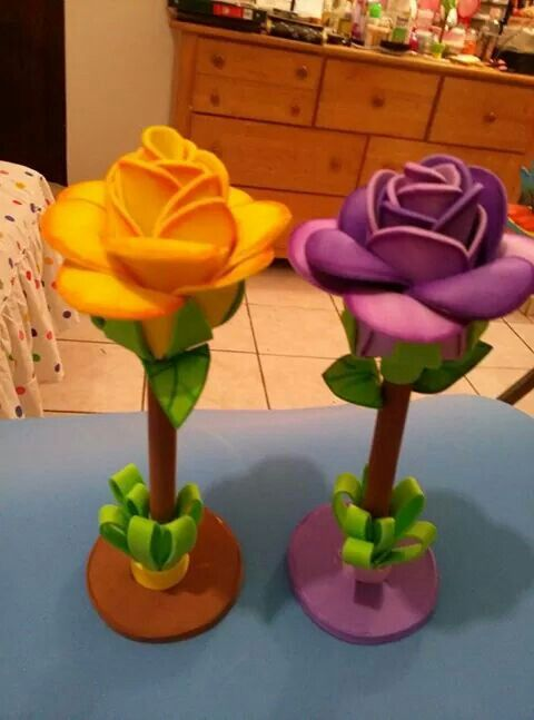 Lapices decorados con foami imagui lapiceros pinterest - Adornos para lapices en goma eva ...