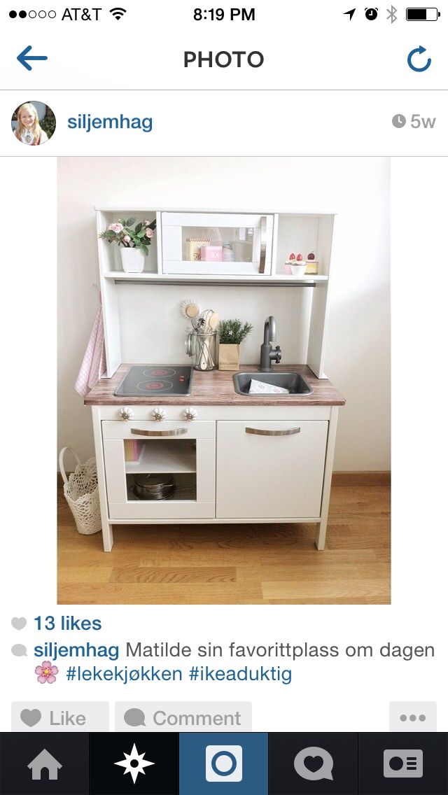 ikea duktig kitchen for children easy to customize painting 39 nature is everything 39 from. Black Bedroom Furniture Sets. Home Design Ideas