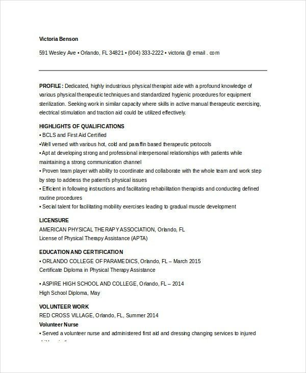 Physical Therapist Cover Letter. Home Health Nurse Sample Resume ...