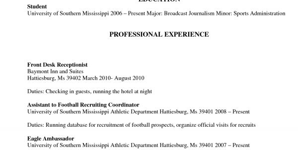 Spa Concierge Resume Salon Receptionist Resume Sample Resume ...