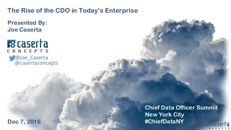 The Rise of the CDO in Today's Enterprise