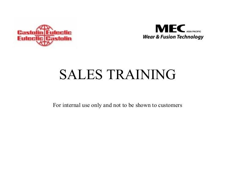 Basic sales training