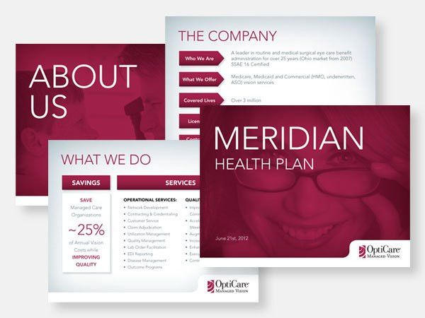 powerpoint & presentation design portfolio - m.e.designlab